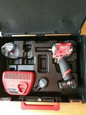Milwaukee M12 FIWF12 FUEL 1/2in Impact Wrench with Batteries & Case