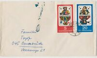 DDR11) East Germany 1967 German Playing Cards