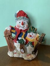 snowman christmas winter figurine