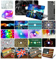 """For Apple Macbook Air 11"""" 13"""" Pro 13 15"""" Laptop hard Case Free Keyboard Cover"""