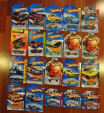 Lot of 21 Hot Wheels Cars: Batman 66 Corvette G6 77 Funny Cul8R 68 El Camino +#1