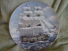 "Danbury Mint Rosenthal American Sailing Ships ""Bon Homme Richard"" Plate (6)"