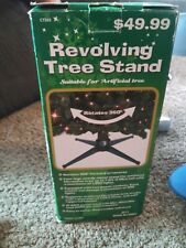 Revolving Artificial Christmas Tree Stand - New Rotating Tree - Tested!
