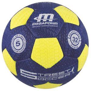Megaform Street Soccer Ball Straßen-Fußball für harte Oberfläschen Gr. 5 NEU