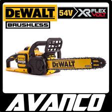 DeWALT 54V XR Flexvolt Brushless Chainsaw Skin DCM575N Cordless Lithium Ion NEW