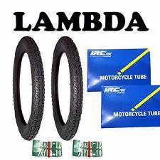 ROAD Tyre x2 tube x2 rim tape x 2 FOR Honda ct110 postie ct 110 ct90 300/17 road