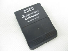 PS2 HORI 8MB Hikaru Memory Card Black Playstation 2 Game Japan 2951