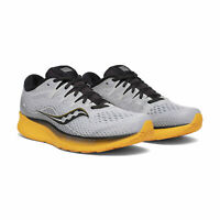 SAUCONY RIDE ISO 2  Scarpe Running Uomo CUSHION A3 GREY YELLOW S20514 45