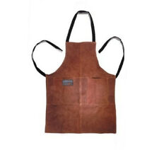 Outset Leather Grill Apron NEW BBQ Barbeque Grilling Cooking Cook Barbecue Men