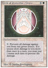 x4 Circle of Protection: Green UNLIMITED VO ENGLISH Magic MTG ~ EX