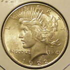 BU 1922 Peace Dollar 90% Silver Very Nice 130923-22