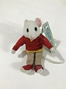 Stuart Little Small Beanie Plush Soft Toy Mouse Tagged Vintage 1999 Collectable