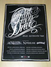 Parkway Drive - Atlas Australian Tour - Laminated Promo Poster