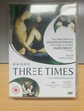 Three Times (Hou Hsiao-Hsien, 2005) R2 Artificial Eye #327. Pre-owned.