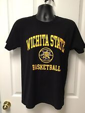 Wichita State Shockers Basketball Adult Men's Women's T Shirt Size Small New 060