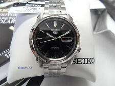 SEIKO  5  SNKK71 BLACK  Dial Stainless Steel  SEIKO Automatic  SNKK71-NEW