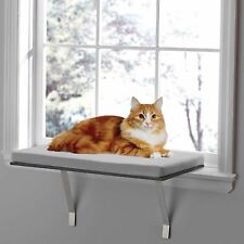 Deluxe Pet Cat Window Perch Seat Bed Kitty Shelf Mounted Hanging Sleep Cushion