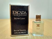 Escada Silver Light Pour Homme 5 ml EDT Miniature Mini Perfume Fragrance