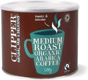 CLIPPER | Organic Instant Freeze Dried Coffee Tin 500g
