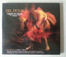 CIRQUE DU SOLEIL 'Delirium' CD album 2005 2000s Soundtracks Theatre