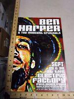 2000 Rock Roll Concert Poster Ben Harper Innocent Criminals Jeff Wood S/N#150