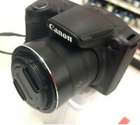 FRONT SNAP-ON LENS CAP to-> CAMERA SX30 SX20 SX10 SX1 IS Canon PowerShot +HOLDER