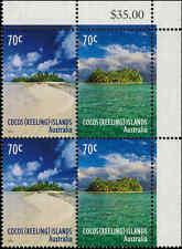 2015 COCOS (KEELING) ISLANDS $0.70 BLOCK(4) MNH