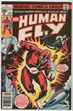 The Human Fly #1 & #9 marvel bronze age newsstand based on real-life stuntman!