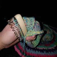 Stainless Steel Scarf Hat Sock Wool Yarn Knitting Loom DIY Craft Weaving Tool MP