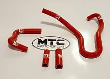 MTC Motorsport Manguera de bote de carbono Audi S3 8P MK5 Golf GTI 2.0 TFSI Turbo Rojo