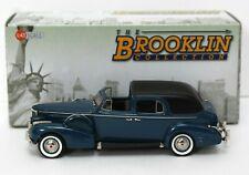 Brooklin 209 1:43 1938 Cadillac Series 75 Fleetwood Town Car Blue Mint/ box DB