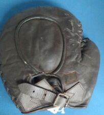 Antique Draper Maynard Catchers Mitt DM with Original Label Baseball Left