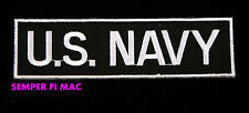 UNITED STATES NAVY SCRIPT PATCH USN NAME TAG MILITARY WOW!!