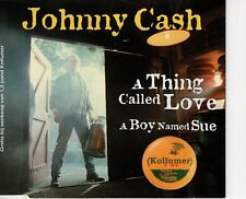CD-S JOHNNY CASH	a thing called love / a boy named sue RARE DUTCH MAXI (B0240)