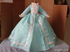 """tagged Agatha Pale Blue Taffeta Gown for 20""""vtg/modern Mdm Alexander Cissy Doll"""