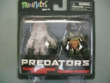 Predator Minimates Cloaked Berserker Predator & Falconer Predator NEW #sjan18-39