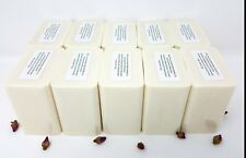 10 lb EXFOLIATING OATMEAL MELT AND POUR SOAP Glycerin All Natural BULK Wholesale