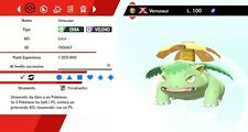 Venusaur Ultra Shiny Gigamax Battle Ready Sword - Shield, Pokemon Spada - Scudo