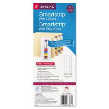 Smead SmartStrip Refill Label Kit 250 Label Forms/Pack Laser 250/Pack 66004