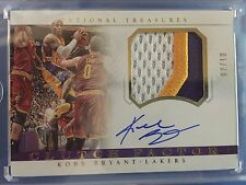 2014-15 National Treasures KOBE BRYANT Clutch Factor AUTO 02 /10