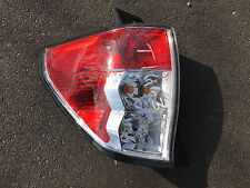 09-13 Subaru Forester Driver Left Tail Light Lamp OEM