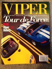 """Dodge Viper Quarterly magazine """"Fall  1998"""". Never Read"""