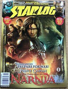 STARLOG #365 2008 CHRONICLES OF NARNIA PRINCE CASPIAN HELLBOY II IRON MAN