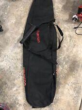 New listing Burton Gig Snowboard Travel Bag Black Padded Insulated 166cm