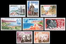 Monaco Scott 631-638 (1966) Mint NH VF Complete Set
