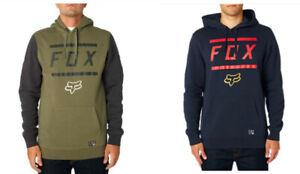 Fox Racing Mens MTB Motor Bik Fleece Pullover Hoodie Jumper Sweatshirt SZ S-2XL