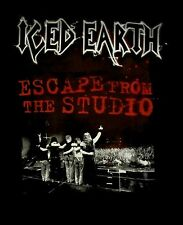 ICED EARTH cd lgo ESCAPE FROM THE STUDIO Official TOUR SHIRT XL New OOP