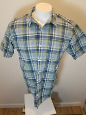 Patagonia  Plaid  Shirt Button Down Organic Cotton - Large L