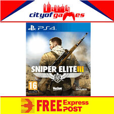 Sniper Elite 3 III PS4 New & Sealed  Free Express Post In Stock