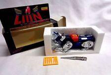 Vintage 1981 Golion Voltron GB-36 Blue Lion Chogokin Diecast Import Boxed FREESP